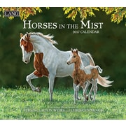 LANG Horses In The Mist 2017 Wall Calendar (17991001917)