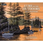 LANG Lure Of The Outdoors 2017 Wall Calendar (17991001929)