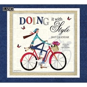 LANG Doing It With Style 2017 Wall Calendar (17991001980)