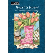 LANG Heart & Home 2017 Monthly Pocket Planner (17991003161)