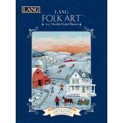LANG Folk Art 2017 Monthly Pocket Planner (17991003162)
