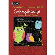 LANG Schoolhouse Monthly Pocket Planner - 17 Mo (17991003164)