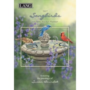 LANG Songbirds 2017 Monthly Pocket Planner (17991003167)