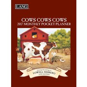 LANG Cows Cows Cows 2017 Monthly Pocket Planner (17991003168)