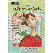 LANG Kelly Rae Roberts 2017 Monthly Pocket Planner (17991003181)