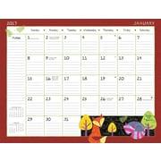 LANG Schoolhouse 2017 Desk Pad Calendar (17991010025)