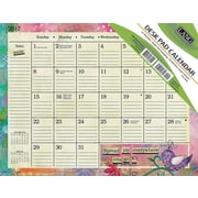 LANG Color My World 2017 Desk Pad Calendar (17991010026)