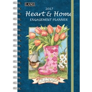 LANG Heart & Home 2017 Spiral Engagement Planner (17991011085)