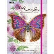 LANG Butterflies 2017 Classic Engagement Planne (17991017023)