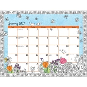 LANG Cheerful Journey Coloring Desk Pad Calendar (17991021020)