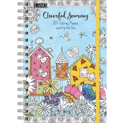 LANG Cheerful Journey 2017 Engagement Planner-Colori (17991022021)