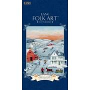 LANG Folk Art 2017 Vertical Wall Calendar (17991079119)