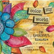 LANG Color My World 2017 Mini Wall Calendar (17991079239)