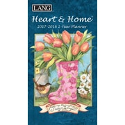 LANG Heart & Home 2017 Two Year Planner (17991071072)