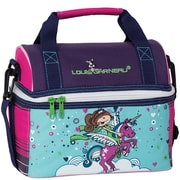 Louis Garneau Licorne Dome Lunch Box, Violet, Pink and Blue (1612302)