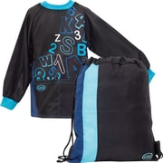 Geo Generic Carryall Bag, Black and Blue (Ag16591be)
