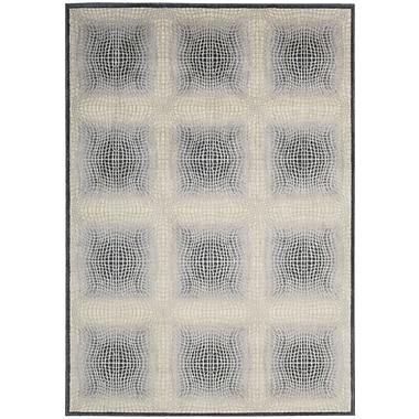 Nourison Utopia White Shell Area Rug; 3'6'' x 5'6''
