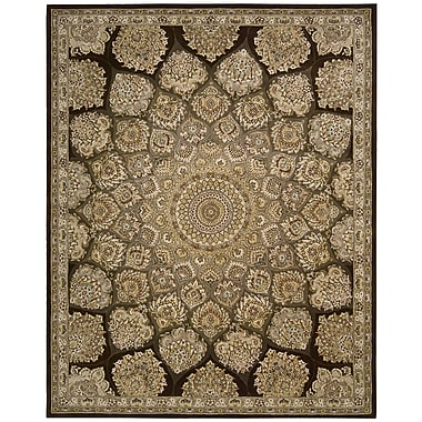 Nourison Nourison Brown Area Rug; 7'9'' x 9'9''