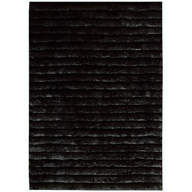 Nourison Urban Safari Black/Gray Area Rug; 5'6'' x 7'5''