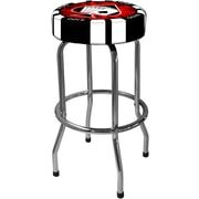 On The Edge Marketing Poker Chip 30.5'' Bar Stool