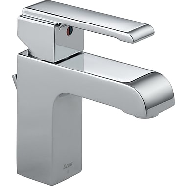 Delta Arzo Series Single Hole Bathroom Faucet w/ Single Handle; Chrome