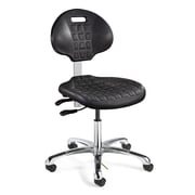 BEVCO Everlast Mid-Back Task Chair with Articulating Seat and Back Tilt; Casters