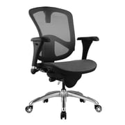 BEVCO ErgoLux High-Back Mesh Executive Chair with All-Purpose Caster