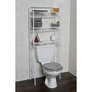 Evideco 23.7'' W x 59.6'' H Over The Toilet Storage