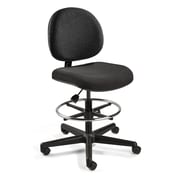 BEVCO Lexington Mid-Back Task Chair with Adjustable Footring; Hard Floor Casters
