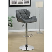 Wildon Home   35.5'' Bar Stool; Gray