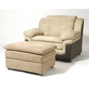 Serta Upholstery Chair; San Marino Chocolate / Padded Saddle