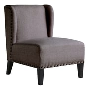 Rissanti Piedmont Lucca Wing Back Side Chair; Beige Melange
