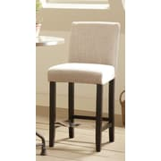 Wildon Home   Bar Stool with Cushion (Set of 2); Beige