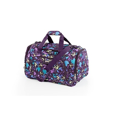 Ricardo Beverly Hills California 2.0 Duffle, Purple Print