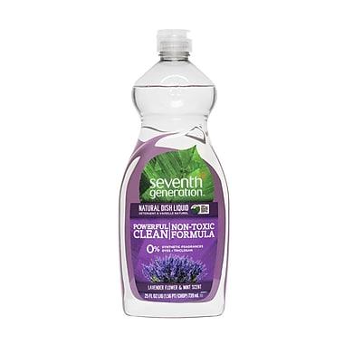 Seventh Generation Natural Dish Liquid Soap, Lavender Floral And Mint, 25 Oz