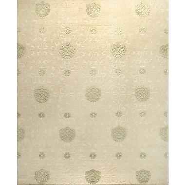 Bashian Rugs Royale White Area Rug; 6' X 9'