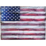 G Debrekht Inspirational Icon American Flag Painting Print; 6'' H x 8'' W x 1.5'' D
