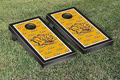 Victory Tailgate NCAA Cornhole Game Set; Arkansas Pine Bluff UAPB Golden Lions WYF078278338707