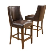 Home Loft Concepts Harman 26.5'' Bar Stool with Cushion (Set of 2)