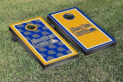 Victory Tailgate NCAA Cornhole Game Set; Albany State University Golden Rams WYF078278338551