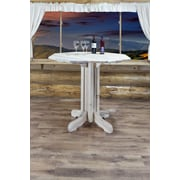Montana Woodworks  Homestead Pub Table; Lacquered