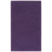Nance Industries Ourspace Bright Purple Area Rug; 6' x 9'