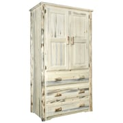 Montana Woodworks  Montana Armoire; Clear Finish