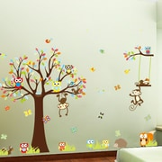 RetailSource Forest Full of Friends Wall Decal