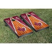 Victory Tailgate NCAA Triangle Weathered Version Cornhole Boards Game Set; Virginia Tech Hokies