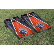 Victory Tailgate NCAA Triangle Weathered Version Cornhole Boards Game Set; Texas El Paso UTEP Miners