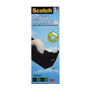 3M Scotch Desk Tape Dispenser C-38 Black Tape Dispenser [Pack Of 4] (4PK-C38BLA)
