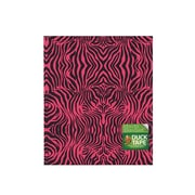 Duck Duct Tape Sheets 8 1/4 In. X 10 In. Pink Zebra Each [Pack Of 8] (8PK-282702)