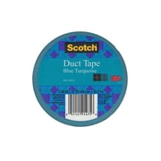 Scotch Colored Duct Tape Blue Turquoise 1.88 In. X 20 Yd. Roll [Pack Of 6] (6PK-920-AQA-C)