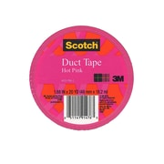 Scotch Colored Duct Tape Hot Pink 1.88 In. X 20 Yd. Roll [Pack Of 6] (6PK-920-PNK-C)